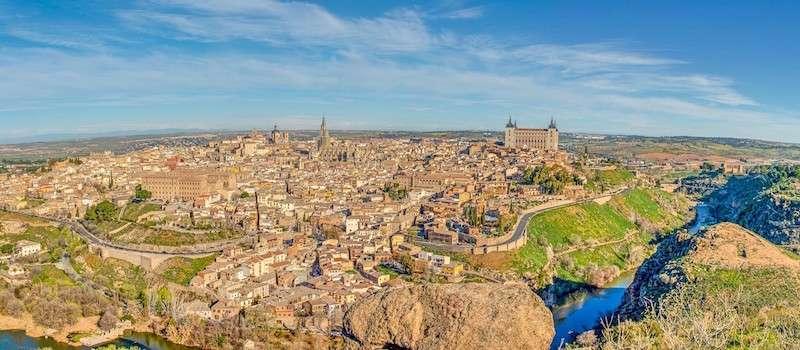 Vista panorámica desde el Mirador de Toledo